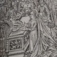 Summerfield B491: Presentation at the Temple, detail of fol. f<sub>vii</sub>r